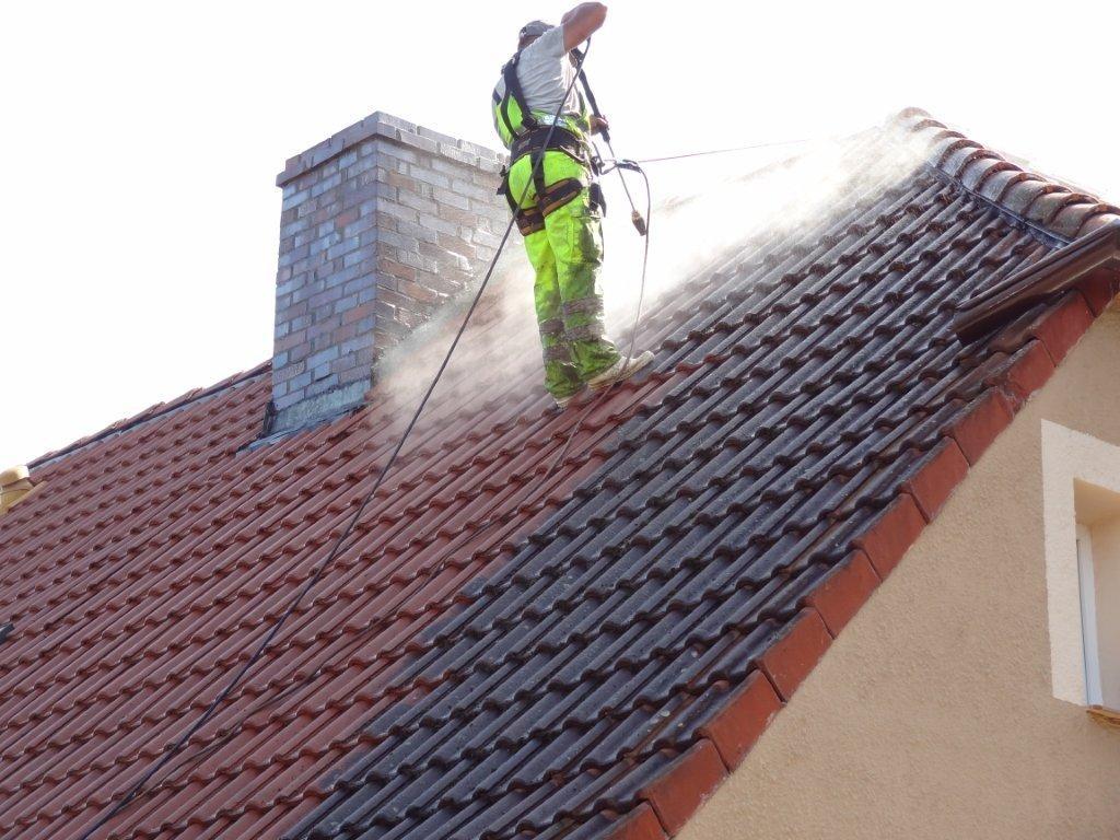 mycie dachu szczecin